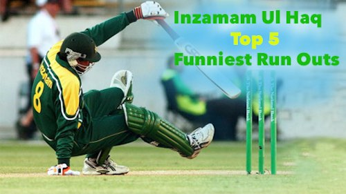 Inzamam Ul Haq Top 5 Funniest Run Outs