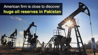 U.S. firm is close to discover huge oil reserves in Pakistan