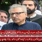 Arif Alvi: We deposit our nomination papers