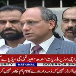 Saeed Ghani: I will not spare any corrupt politician