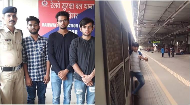 'Kiki challenge' India men to clean station as punishment