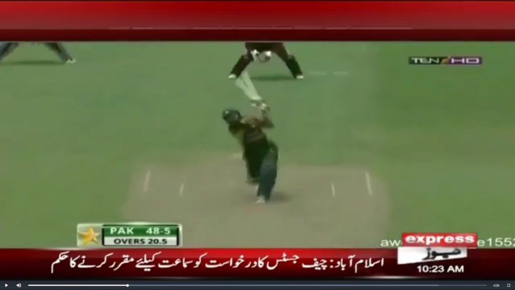Chris Gayle matches Shahid Afridi's world record of 6s