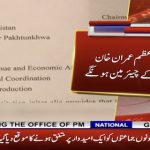 PM Imran Khan named chairman of CCI