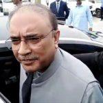 Asif Ali Zardari addressed to media in Karachi