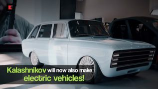 Kalashnikov will now make electric cars & motorcycles!