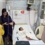 A boy lost his both hands due to high tension wires