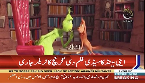 Animated film 'The Grinch' releases trailer