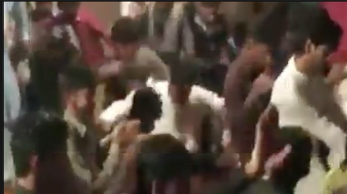 Viral Video: Rooftop collapsed in Jhang