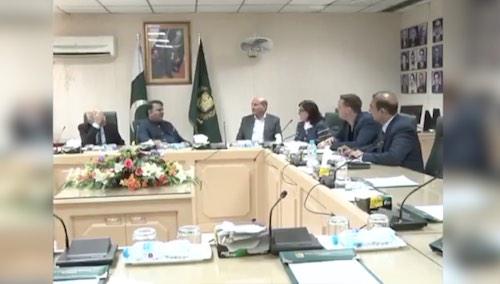 Information Minister meet with UAE media delegation