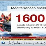 UN: 1,600 people died trying to reach Europe in 2018