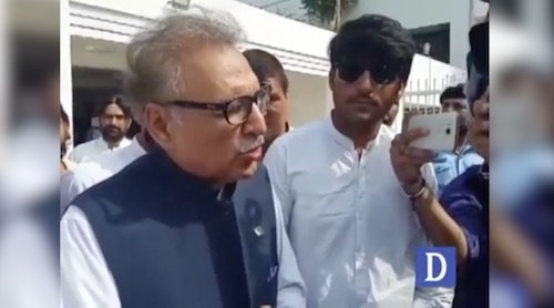 Arif Alvi: We are supporting the vision of Imran Khan