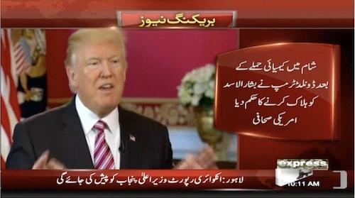 Donald Trump wanted to assassinate Bashar al-Assad