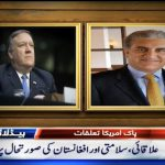 Secretary of State Mike Pompeo reaches Pakistan today
