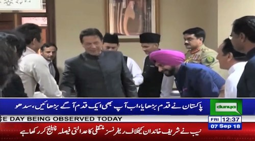 Navjot Sidhu thanks Imran Khan for opening Border