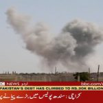 Russian' planes bomb targets in Idlib province