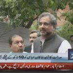 Warrants issued for Shahid Khaqan Abbasi's arrest