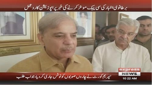 PTI govt voicing our enemies on CPEC: Shehbaz Sharif