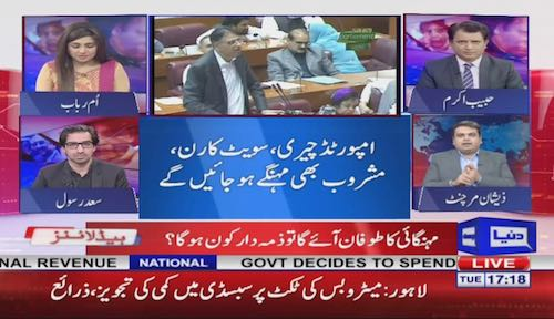 Habib Akram: PMLN before Elections 2018 gave an electoral budget
