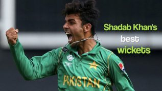 Shadab Khan's brilliant wicket spree