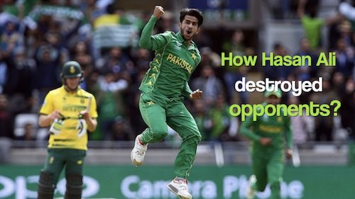 Hasan Ali's top wickets - A roundup