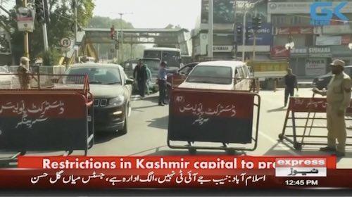 Curbs in Srinagar to prevent Muharram processions