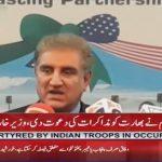 Washington: FM Shah Mehmood Qureshi addressed to media