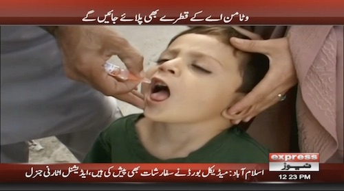 Anti-Polio drive begins across country