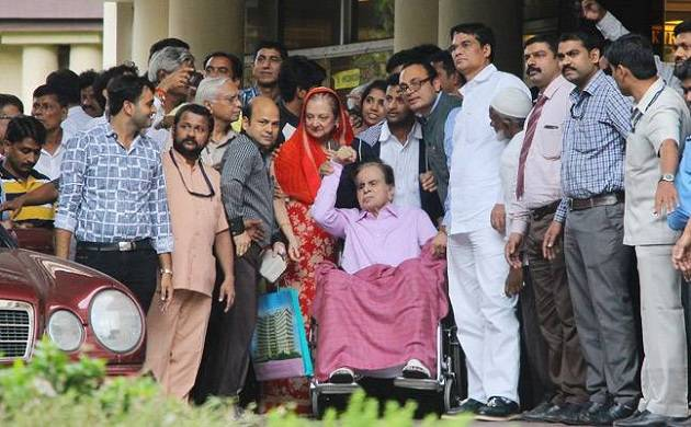 Legendary Actor 'Dilip Kumar' Discharged From Hospital After Suffering From Lungs Infection.