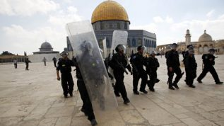 Israeli Administration Takes Over Al-Aqsa Mosque, Bans Palestinians From Entering.