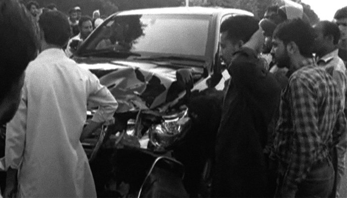 Policemen Crushed By Ex-PM Raja Pervaiz Ashraf's Car