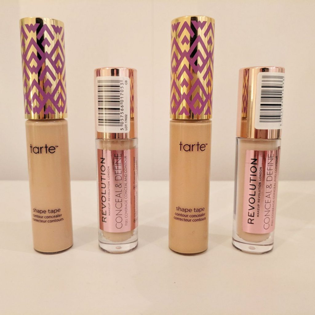 Makeup Revolution Concealer, a possible Dupe for Tarte Shape Tape concealer?