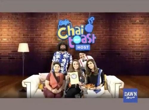 Chai toast aur host - Sep 25, 2018