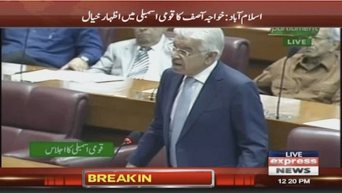 Khawaja Asif lashes out at govt's foreign policy 'stunts'