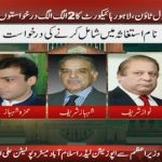 LHC rejects PAT's plea to summon Nawaz, Shehbaz in Model Town case