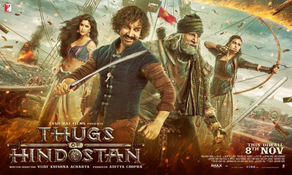 All eyes set on the release of Thugs of Hindustan