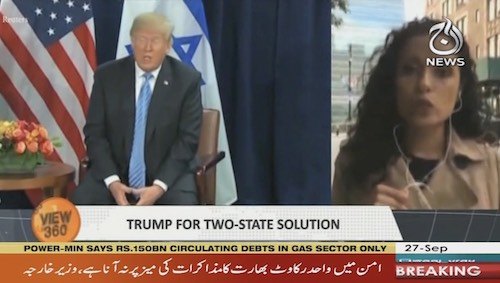 Trump's Endorsement of Two-state Solution Changes Reality