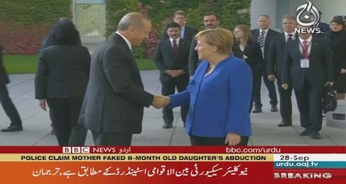 Merkel talks human rights with Turkey′s Recep Tayyip Erdogan