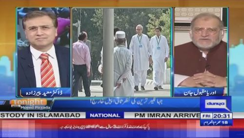 Orya Maqbool Jan: Jahangir Tareen may still carry on with his role behind the scenes