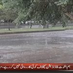 Dry weather with rain at isolated places likely