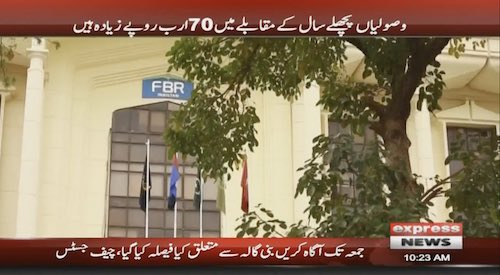 FBR misses revenue target by Rs15 billion in first quarter