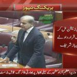 Shehbaz demands joint resolution condemning AJK firing incident