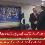Washington: FM Shah Mehmood Qureshi to meet Mike Pompeo today
