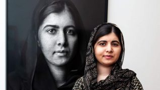 Malala's Portrait Being Displayed At London's National Portrait Gallery