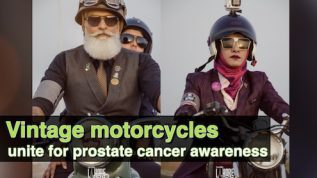 Distinguished Gentleman's Ride rally for prostate cancer awareness