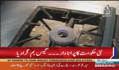 Rise in gas prices in Pakistan