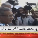 CJP meets protesters outside SC Karachi