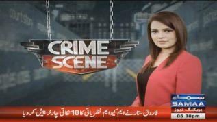 Crime Scene – 26 October, 2018