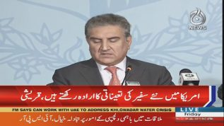 FM Qureshi: Government to appoint new ambassadors in USA and Britain