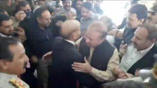 ISB: PMLN leader Nawaz Sharif reaches Parliament House