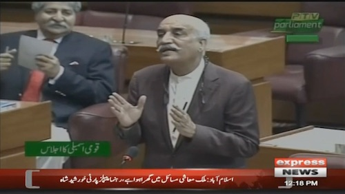Khurshid Shah: I requested to current government please complete your quorum